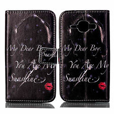 Flip Stand Leather Walllet Phone Case Cover For Samsung Galaxy Core Prime G360
