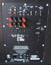 Infinity Interlude IL100s Powered Subwoofer Amplifier Plate Repair Service