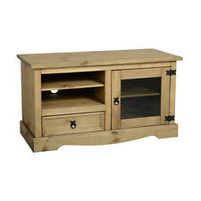 Corona Entertainment TV Video Unit - Mexican Solid Pine, Rustic, Distressed