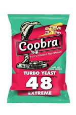 Coobra 48  Turbo Yeast  Extreme, up to 21% Alkohol !Free Worldwide Shipping