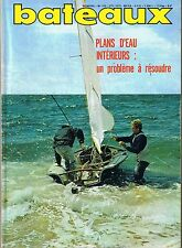 bateaux * n° 165 février 1972 Le Cap d'Agde L'house boat YF à la barre du 470