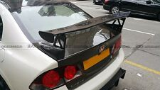 Carbon Rear Trunk Spoiler GT Wing For 2006 Civic 4 Door FD2R TypeR Mugn Style