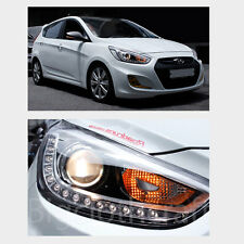 New LED Projection Day Light Head Light Lamp Right OEM for Hyundai ACCENT 12-14