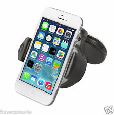 360° WINDSCREEN IN CAR KIT MOUNT HOLDER CRADLE FOR iPHONE 5S 5C 4 SAMSUNG S4 S5