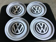 NEW 4PC SET VW VOLKSWAGEN GOLF JETTA MK4 WHEEL COVER HUB CAPS LOGO 1J0601149B