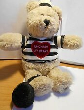 "STARBUCKS Bearista Bear 2003 -""Unchain My Heart"" - Abt 10"""