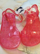 Little Girls Gap Pink Jelly Sandals New! Size 7