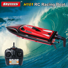 New Skytech H101 2.4G 4CH Remote Controller 180° Flip Fast Speed RC Racing Boat