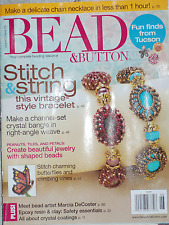 BEAD & Button magazine June 2013 issue 115  Bacatus