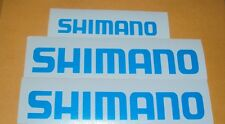 Shimano Decal Set of 3 Fishing Boats MTB DH Bike Bass Rapala Windshield Rod