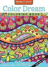 New Color Dreams Coloring Book Perfectly Portable to Color Wherever you go! 32pg