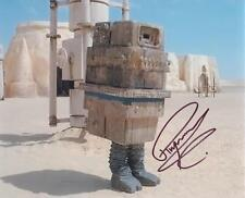 RAYMOND GRIFFITHS as a GONK Droid - Star Wars GENUINE AUTOGRAPH UACC (R12336)