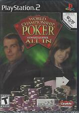 World Championship Poker Featuring Howard Lederer: All In (Sony PlayStation 2, 2
