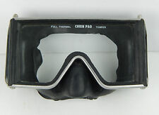 Vintage Chien Pao Full Thermal Scuba Diving Tempered Glass Mask / Goggles FAIR