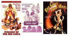 INVASION OF THE BEE GIRLS,ZETA ONE(THE LOVE FACTOR),BAD GIRLS FROM MARS Rated R