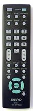 SANYO GXBM LCD-LED TV Remote Control - NEW OEM Sanyo GXBM LCD-LED TV Remote