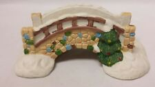 Dickens Collectables Porcelain Stone Bridge Christmas Village Accessory Holiday