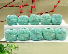 Knitting Set Of 10 Pcs Cotton Thread Anchor Crochet Tatting Embroidery Ball Yarn