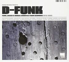 D-FUNK/FUNK,DISCO & BOOGIE GROOVES FROM GERMANY  CD NEU