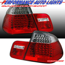 "99-01 BMW E46 323i 325i 328i 330i 4DR SEDAN ""L.E.D."" TAIL LIGHTS LED PAIR 4PCS"