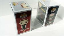 "100 FUNKO POP! BOX PROTECTORS FOR 4"" VINYL FIGURE BOXES  CRYSTAL CLEAR CASES"