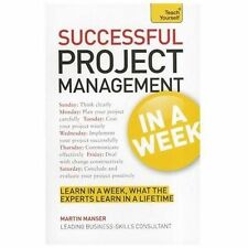 Teach Yourself Successful Project Management in a Week, Brown, Mark, Very Good c