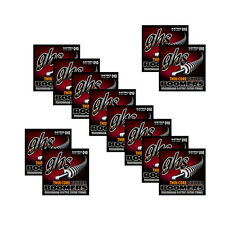 12-Pack GHS TC-GBL Thin Core Boomer Light Electric Guitar Strings (10-46)