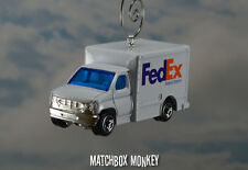 Fed Ex Custom Christmas Ornament 1/64 Federal Express Delivery Truck USPS UPS