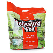 Taylors of Harrogate Yorkshire Tea 480 Tea Bags 1.5Kg