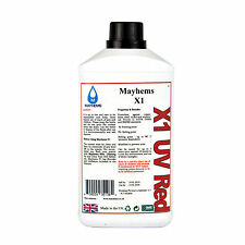Mayhems X1 Pre Mixed Water Cooling Liquid Coolant UV Red Fluid 1 Litre