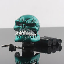 Universal Manual Operation Car Gear Shift Knob Shifter Lever Resin Skull Head