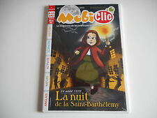 JEU CD-ROM MAC PC -MOBICLIC N° 167 NOVEMBRE 2014 LA NUIT DE LA SAINT-BARTHELEMY