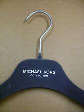 """MICHAEL KORS DRESS SHIRT GREY VELVET FELT HANGERS 15"""" SET 25"""