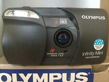 Olympus Infinity Mini autofocus point and shoot with prime 35mm f3.5 lens