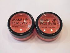 2 MAKEUP FOREVER STAR POWDER EYESHADOW .09 OZ EA/.18 OZ TOTAL - NEW