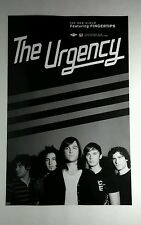 THE URGENCY FINGERTIPS B&W DOUBLE SIDED PHOTO 11x17 MUSIC POSTER