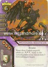 Warhammer Invasion - 1x Wütender Manticor  #076 - Zeichen in den Sternen