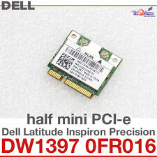 Wi-Fi WLAN WIRELESS CARD NETZWERKKARTE DELL MINI PCI-E DW1397 0FR016 NEW NEU D29