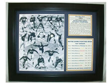 11X14 FRAMED NOTRE DAME 8X10 PHOTO 1947 NATIONAL CHAMPIONS Undefeated