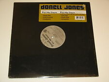 """DONELL JONES put me down 12"""" RECORD STYLES P OF THE LOX & LADY MAY OG&RAP SEALED"""