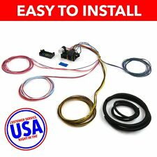 Wire Harness Fuse Block Upgrade Kit for 49-62 Ford Car Stranded Insulation PolyP