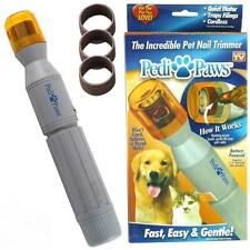 New Quick&Safe Pedi Paws Dogs Cats Pets Nail Trimmer Groomer Clipper Cutter Tool