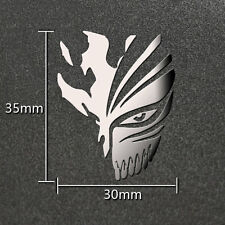 Anime Bleach Silver 3D Metal Sticker For Phone PSP Computer Laptop Cars Toys