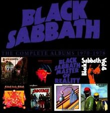 BLACK SABBATH Complete Albums 1970-1978 8xCD BOX * SEALED out of print R2-542306