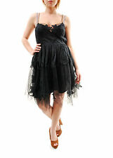 Free People Women's Authentic Gossamer Mini Dress Black  Size 4 RRP £ 211 BCF65