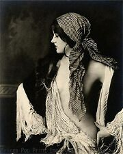 Art Deco Gypsy Art Print 8 x 10 - Jazz Age - Flapper - Roaring 20s - 1920's
