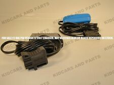 PEG PEREGO 12 VOLT BATTERY CHARGER MECB0034 **BRAND NEW**