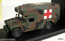 VICTORIA 1/43 - R038 HUMMER US ARMY AMBULANCE CAMOUFLAGE DIECAST MODEL CAR