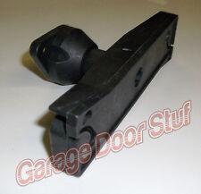 Garage Door Lock-INSIDE RELEASE HANDLE- Black Plastic direct replacement