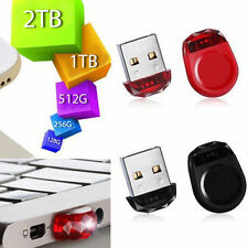 512GB 256GB 128GB MINI USB 2.0 Metal Flash Memory Stick Pen Drive Storage